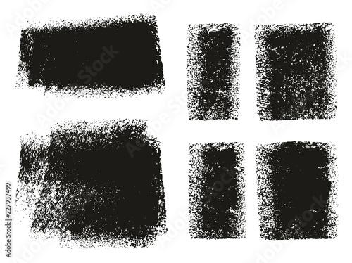 Fotografie, Obraz  Paint Roller Rough Backgrounds & Lines High Detail Abstract Vector Lines & Backg