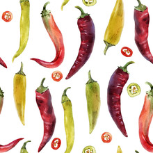 Hot Chili Pepper Pattern
