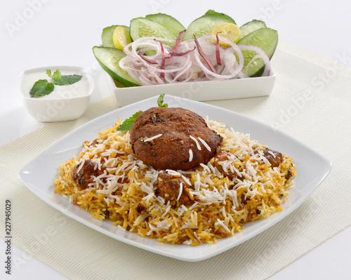 Kebab and Pulao