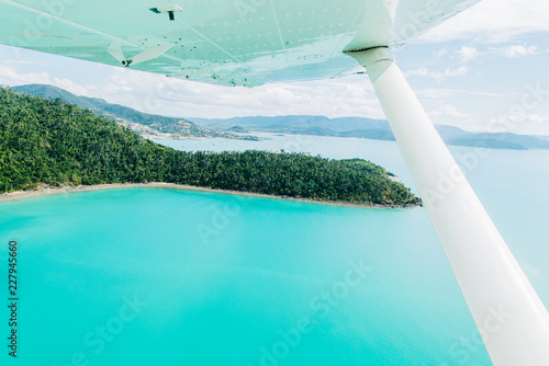 queensland, drone, airlie beach, plane, Canvas Print
