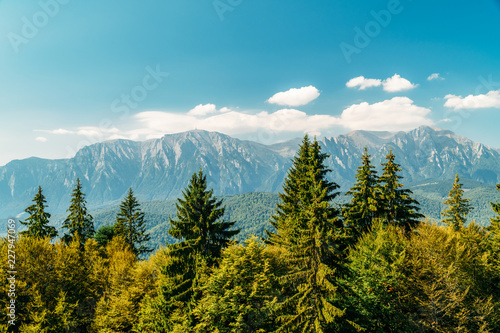 Foto auf Leinwand Gebirge Carpathian Mountains Landscape In Romania