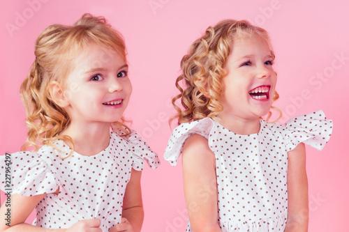 70797285c68 two little girl beauty queen blue eyes
