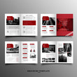 Modern brochure template with image