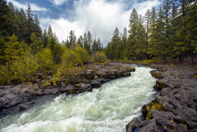 Union Creek   Rogue River Gorge Falls