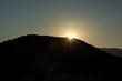 Coucher de soleil sur le Lac du Salagou