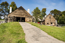 National Historic Iron Works About In Saugus, Massachusetts.