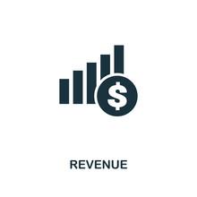 Revenue Icon. Premium Style De...