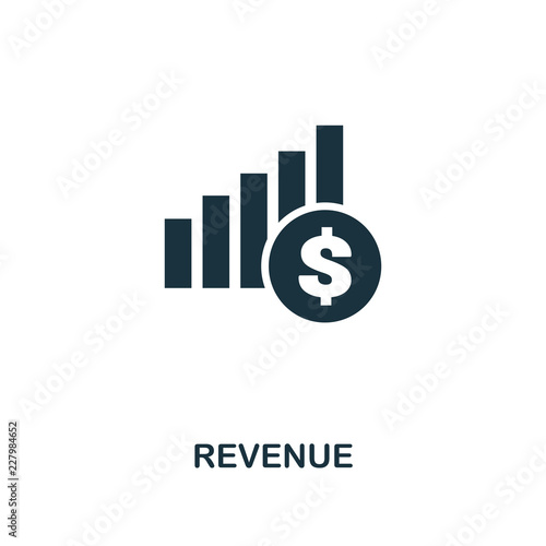 Fotografía Revenue icon