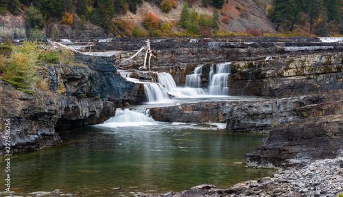 Late Season Waterfall