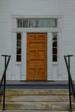 Front Door To Old House