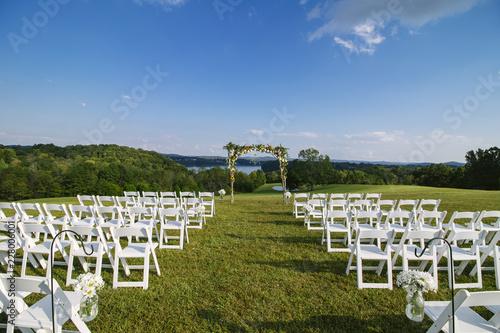 Carta da parati Wedding Ceremony Location