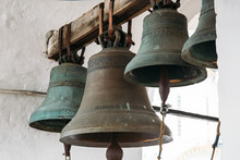 Bronze Bells On Tower In Ancie...