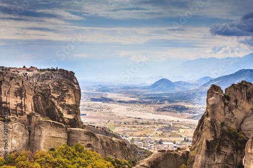 Keuken foto achterwand Historisch geb. Monastery of the Holy Trinity i in Meteora, Greece
