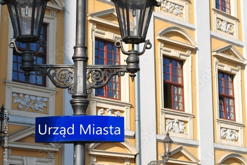 Fototapeta Urząd Miasta obraz