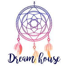 Dream House Poster Design With...
