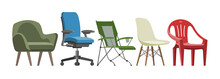 Chair Vector Comfortable Furni...
