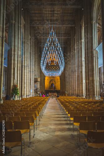 Fototapeta Walkway Canterbury Cathedral obraz