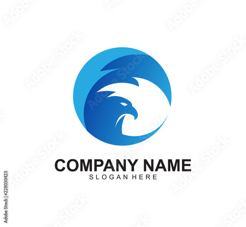 Photo  mighty eagle vector icon logo design inspiration