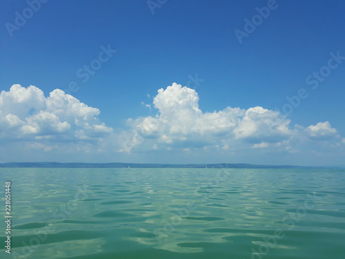 Photo  Balaton in the summer