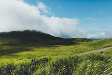 Grassland And The Cloud.