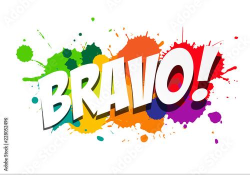 Bravo ! Canvas-taulu