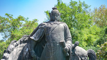 Statue Of The Yue Fei In Wuhan, China.