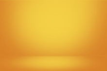 Yellow Gradient Wall And Empty...