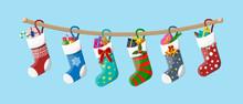 Christmas Sock Stocking