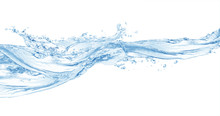 Water ,water Splash Isolated O...