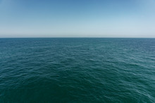 Open Deep Sea And Clear Blue Sky