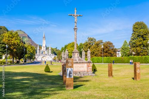 Fotografie, Obraz  Sanctuaire Notre-Dame de Lourdes