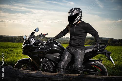 Photo  Motorradfahren als Hobby