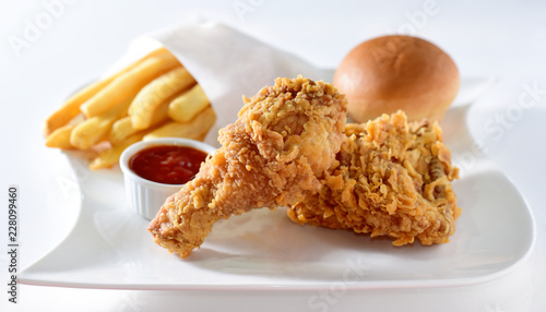 Chicken Broast Full Meal