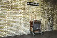 Platform 9¾ At King's Cross S...