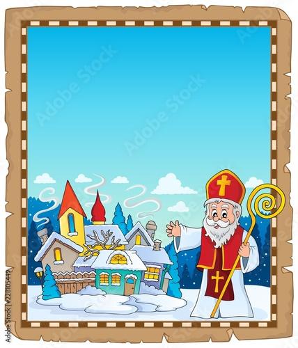 Saint Nicholas topic parchment 4