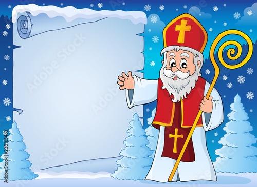 Saint Nicholas topic parchment 5