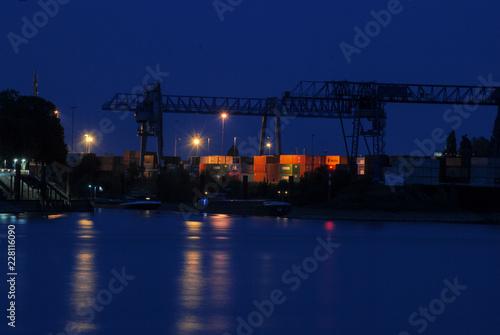 Plakat port