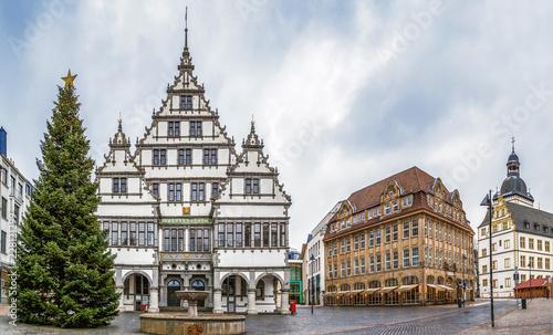 plakat Town hall of Paderborn, Germany