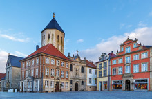 Market Square, Paderborn, Germany