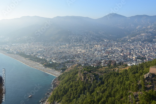 Poster Ligurie The view from Alanya castle