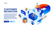 Customer Attraction Concept Ba...