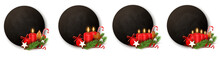 Advent Button Set - Kreidetafe...