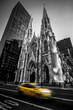 St patrick's cathedral B&W - New York City - NYC - USA