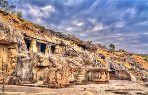 Deurstickers Asia land Ellora cave 20. UNESCO world heritage site in Maharashtra, India