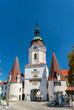 Steiner Tor, a 15th century gate in Krems an der Donau, the Wachau valley of Austria