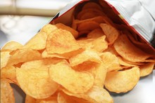 Potato Chips Bag Isolated On  ...