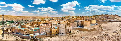 Staande foto Algerije El Atteuf, an old town in the M'Zab Valley in Algeria