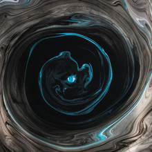 Swirls Of Dissolving Paint