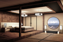 Traditional Japanese Style Bed...