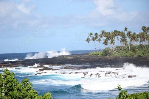 Fototapeta Alofaaga Blowholes, Savaii, Samoa